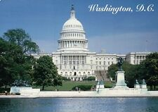Beautiful View of the United States Capitol Building in Washington DC - Postcard