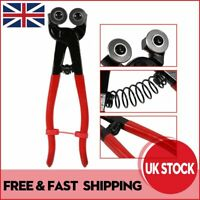 8''(200mm) Stained Glass Cutter Nipper Plier Tool & 2pcs Carbide Rollers  #1**