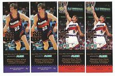 2 Pair UNUSED 1995 NBA All Star Game Jam Session Tickets Ainge Majerle Fleer