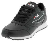 Scarpa Sportiva Nera Donna Fila Orbit Low WMN Sneaker Ecopelle Estiva Comoda