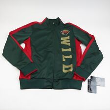 Minnesota Wild Women Track Jacket DROP BACK Track Jacket by G-III NHL Women M