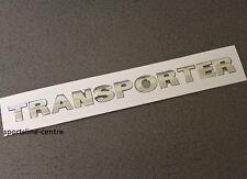 Transporter Chrome badge emblème autocollant VW Arrière Coffre Porte Arrière Hayon Coffre T40