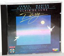 CD Claire De Lune - DEBUSSY - James Galway, Flute / Marisa Robles, Harp u.a.