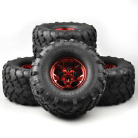 4Pcs 1:10 Bigfoot tires&wheel 12mm Hex for Traxxas Monster Truck RC Climbing Car
