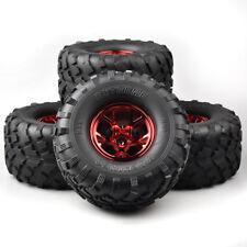 RC 4Pcs 1:10 Bigfoot Wheel&tires 12mm Hex for Traxxas Climbing Monster Truck car