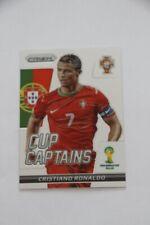 "Panini Prizm World Cup Brazil 2014 Cristiano Ronaldo ""Cup Captains"" #5"