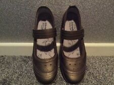 JD Williams Women's Khaki Patterned Leather Shoes SIZE 8D