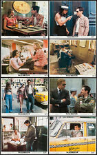 TAXI DRIVER original 1976 color photo lobby set ROBERT DE NIRO/JODIE FOSTER