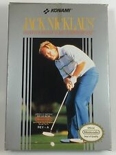 Jack Nicklaus Major Championship Golf Nintendo Entertainment System NES COMPLETE