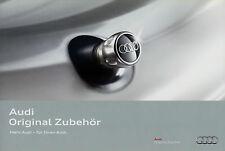 Audi Zubehör Prospekt 2011 5/11 Autoprospekt brochure accessoires accessories