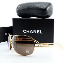 CHANEL Sonnenbrille 4150 133/73 68-14 120 Metal Wrap Pilot Deluxe Lady Gold M-L