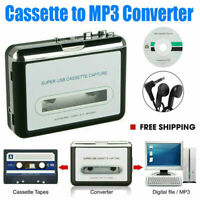 Tape to PC Cassette to MP3 CD File Converter Capture Digital Audio Music Player