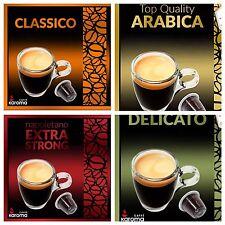 💯Capsules Compatible Nespresso Machines! CLASSICO,ARABICA,X-STRONG,DELICATO