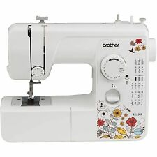 Refurbished Brother 17 Stitch Sewing Machine LED Work Area Included White
