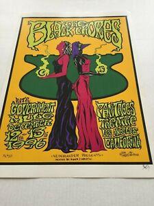 The Black Crowes with Gov't Mule 1996 Vintage  Concert Poster