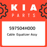 597504H000 Kia Cable equalizer assy 597504H000, New Genuine OEM Part