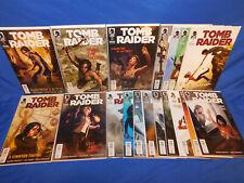 Dark Horse Comics Tomb Raider #1-18 Complete 2015 Series Set Video Game Tie In
