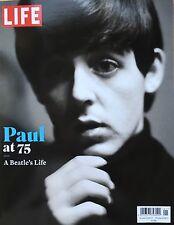 LIFE Magazine PAUL McCARTNEY Paul at 75 A Beatles's Life WINGS NEW