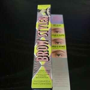 Benefit Cosmetics Brow Styler Eyebrow Pencil & Powder Duo Warm Light Brown