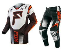 Taglia 36-XL Completo Maglia + Pantalone Fox 360 Franchise Arancio Mx Gear Cross