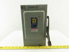 Square D Hu361 600v Acdc 30a 3 Pole Non Fused Safety Disconnect Switch