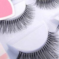 5 Pairs Makeup Natural Sparse Cross Eye Lashes Extension Long False Eyelashes