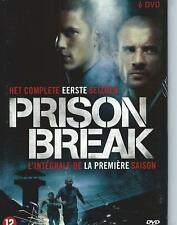 3 X dvd box set / PRISON BREAK SEASON 1+ 2+ 3  ENGLISH / NEDERLANDS R2