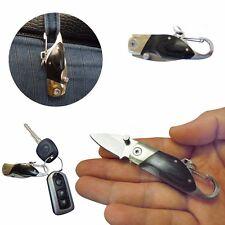 portachiavi o campeggio Mini coltello pieghevole con moschettone