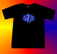 --> LED EL Leucht Equalizer T Shirt Dancing Girl 2 <--