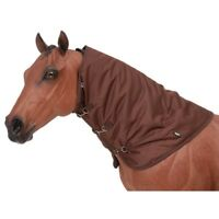 Tough-1 600 Denier Waterproof Poly Turnout Neck Cover X-Large Brown