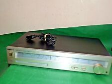 More details for panasonic st-2800l stereo tuner hifi vintage japan  silver black untested