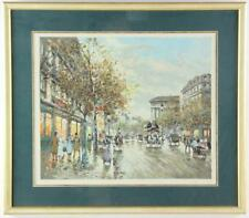 Antoine Boulet Paris View Print Lot 4757