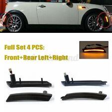 For Mini Cooper R55 R56 R57 R58 R59 R60 R61 Amber/Red LED Side Marker Lights