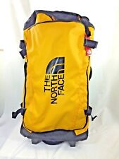 "NEW 30"" North Face Rolling Thunder Bag Duffel Handle Travel NWT Summit Gold Yel"