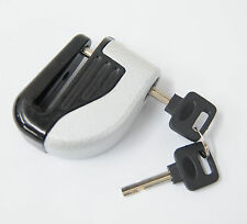 6mm Security Motorcycle Bike Wheel Brake Lock Safety Alarm with Battery And key
