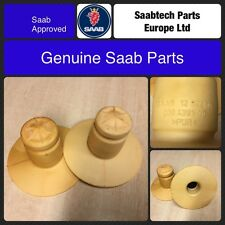 GENUINE SAAB 9-3 2003 on PAIR OF REAR SPRING BUMP STOP 4D 5D CV - 12802494 - NEW