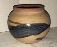 Vintage Madocrusa Studio Artisan Pottery Redware Vase Bowl Planter Dominican