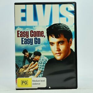 Easy Come, Easy Go Elvis Presley DVD 2007 Rare Good Condition Free Tracked Post