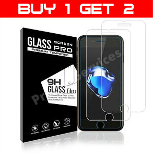 Screen Protector For iPhone 7 - Tempered Glass 100% Genuine
