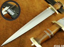 "ALISTAR 15.7"" CUSTOM HANDMADE DOUBLE EDGE SWISS DAGGER HUNTING KNIFE (4516-10"