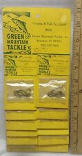 Green Mountain Tackle ,Octopus Hooks ,size 1, Sport Shop ,Full Hang Card, Nos