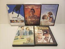 Lot Of 5 Drama Dvd Movies Strangerland Good People Waking Life The Notebook *