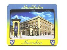 Stockholm 3D Holz Souvenir Magnet Schweden Sweden Neu
