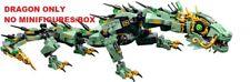 LEGO Ninjago Movie 70612 Green Ninja Mech Dragon DRAGON ONLY No Minifigures/Box