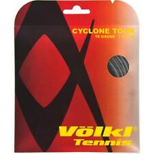 VOLKL CYCLONE TOUR TENNIS STRING 1.20MM 18G - ONE 12M SET - ANTHRACITE - RRP £15