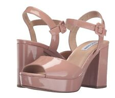 Steve Madden Trixie Sandals In Blush Pink, Sz 7, Party, Wedding or Prom