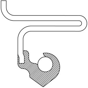 Auto Trans Oil Pump Seal Front National 4598