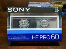 Sony HF-PRO 60 Blank cassette tape Type I JDM market
