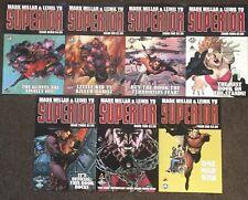 Mark Millar & Leinil Yu Superior # 1,2,3,4,5,6,7 Set Lot Nm Marvel Comics