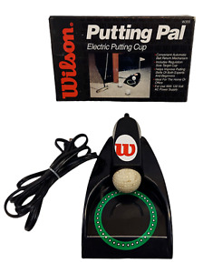 Vintage Wilson Putting Pal Electric Golf Putting Cup in Box Made in Taiwan